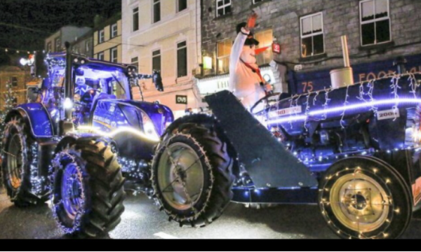 Abbey Machinery Supports Christmas Tractors of Nenagh